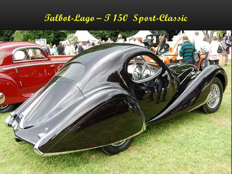 Talbot-Lago – T 150-CSS - 1938