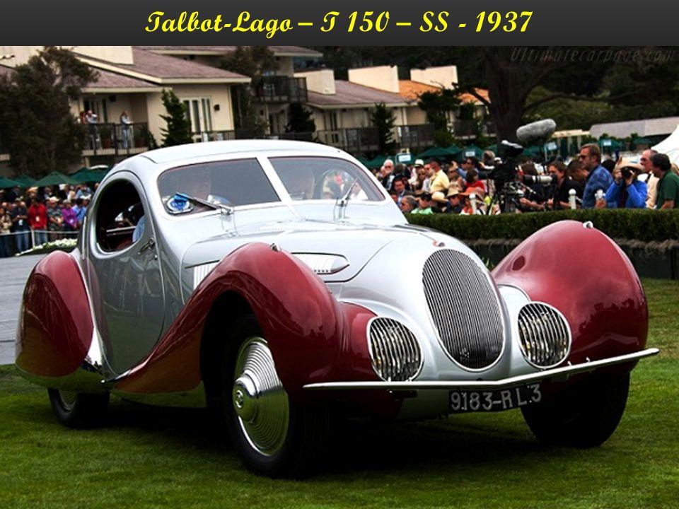 Talbot-Lago – T 150 – SS - 1937