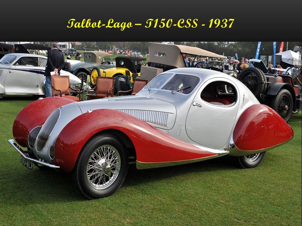 Talbot-Lago – T150-CSS - 1937