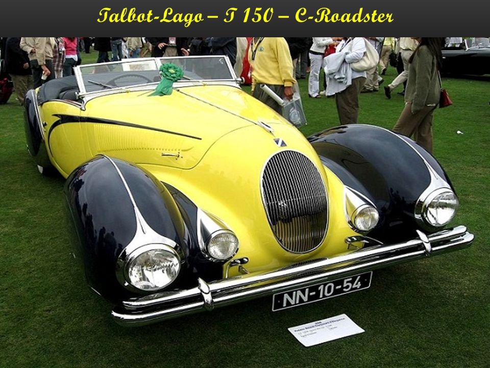Talbot-Lago – T 26 – Sport-Coupe - 1948