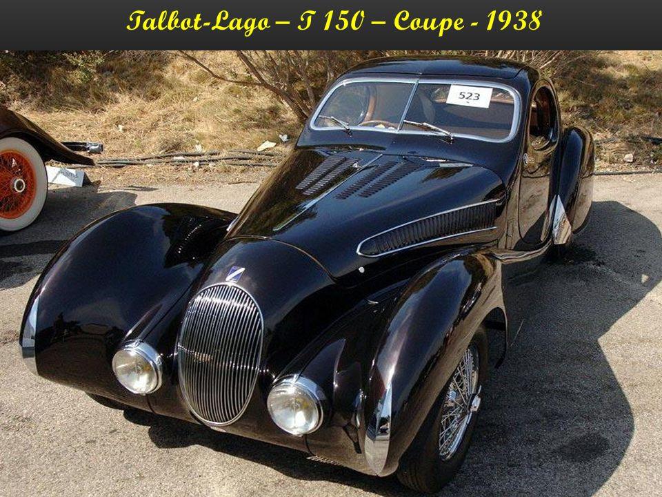 Talbot-Lago – T 150 – Coupe - 1938