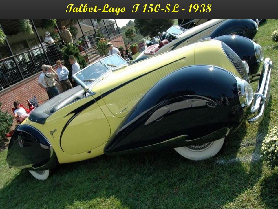 Talbot-Lago T 150-SL - 1938