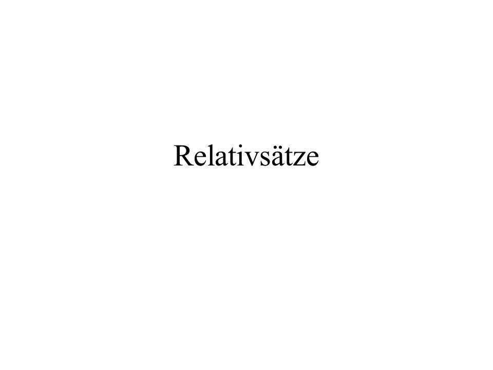 Relativsätze