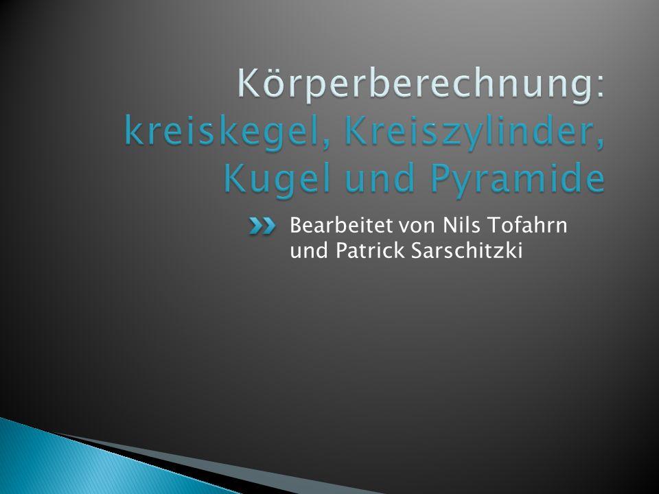 Bearbeitet von Nils Tofahrn und Patrick Sarschitzki