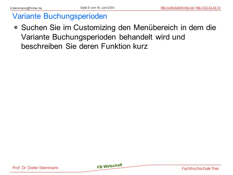 d.steinmann@fh-trier.de Seite 19 vom 16.