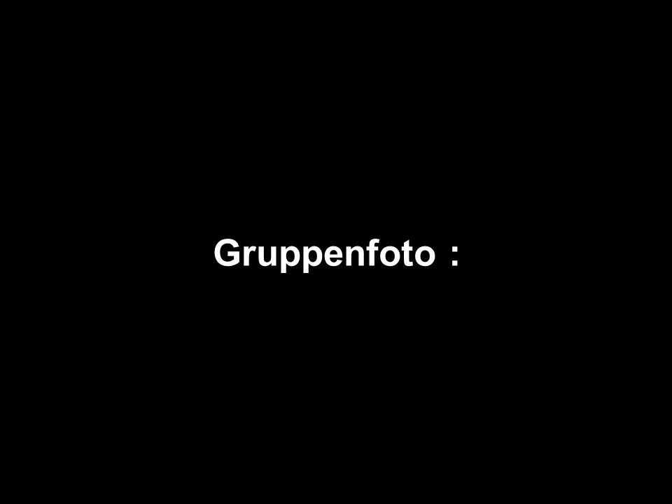 Gruppenfoto :