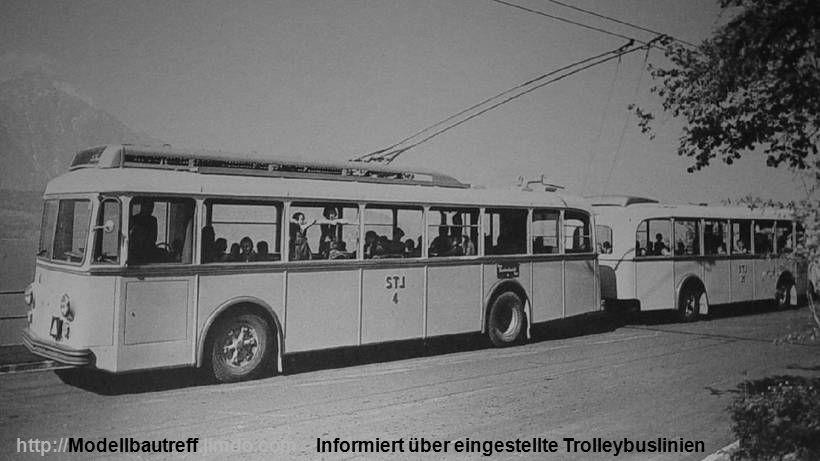 Informiert über eingestellte Trolleybuslinienhttp://Modellbautreff.jimdo.com