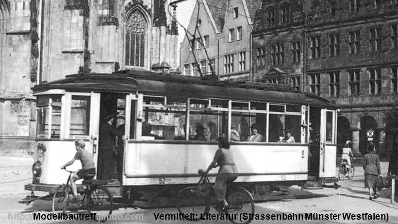 Vermittelt: Literatur (Strassenbahn Münster Westfalen)http://Modellbautreff.jimdo.com