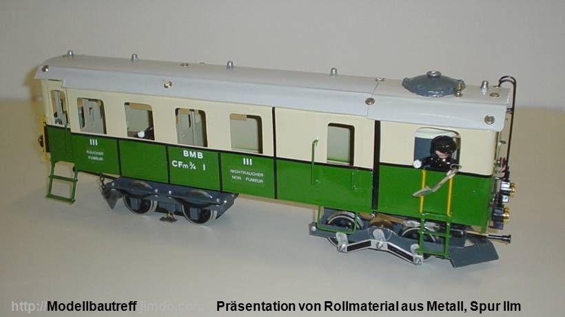Präsentation von Rollmaterial aus Metall, Spur IImhttp://Modellbautreff.jimdo.com
