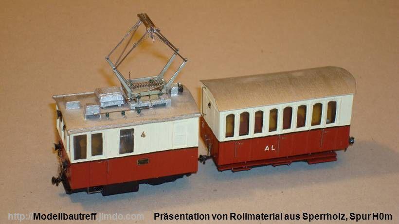 Präsentation von Rollmaterial aus Sperrholz, Spur H0mhttp://Modellbautreff.jimdo.com