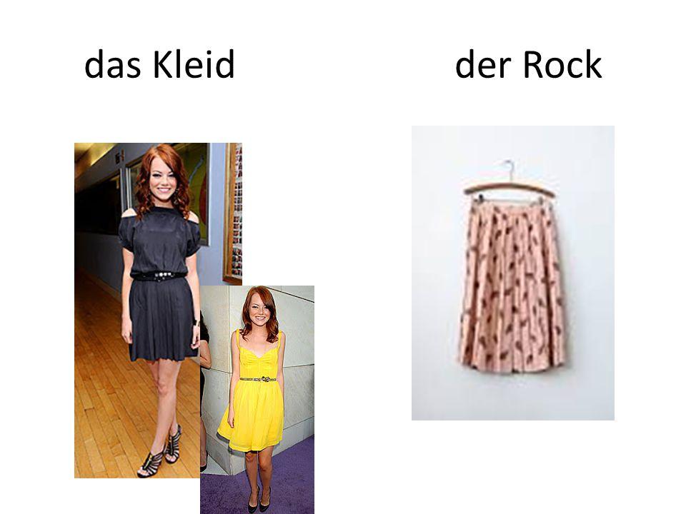 das Kleid der Rock
