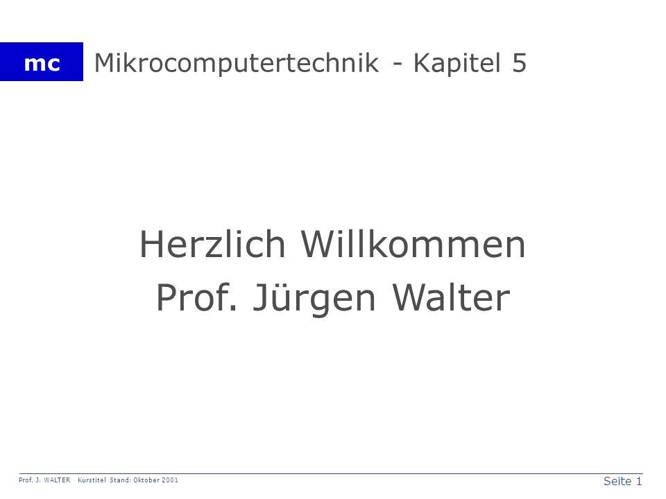 Seite 22 Prof. J. WALTER Kurstitel Stand: Oktober 2001 mc Bild 5.19. Erzeugen der Baudrate