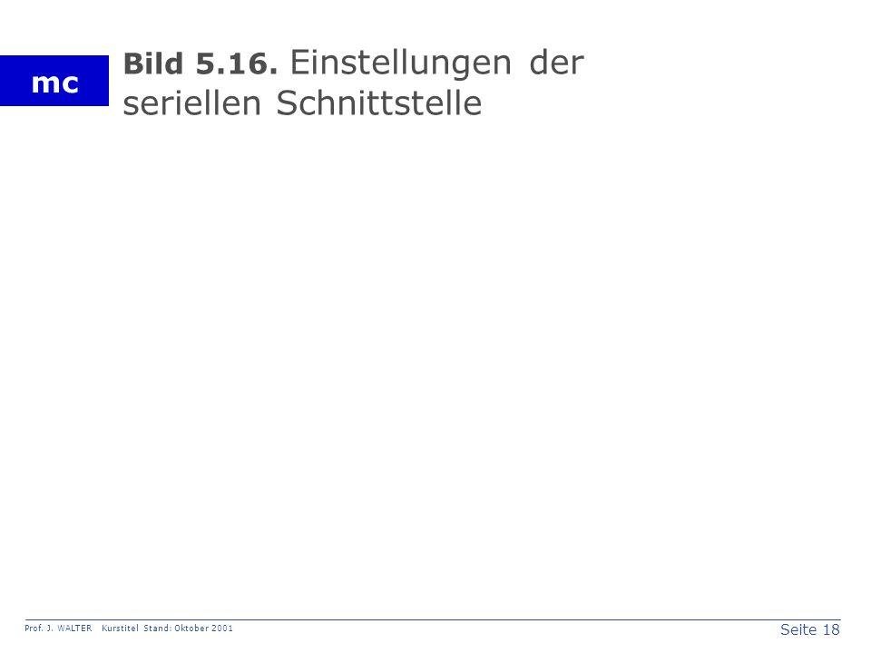 Seite 18 Prof. J. WALTER Kurstitel Stand: Oktober 2001 mc Bild 5.16.