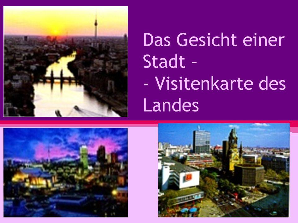 Wir sprechen heute über weltberühmte europäische Städte: Leipzig, Nürnberg, Dresden, Weimar, Wien, Bern.