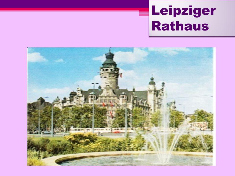 Leipzig. Bach-Denkmal