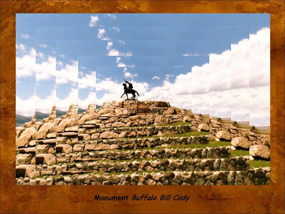 Monument Buffalo Bill Cody