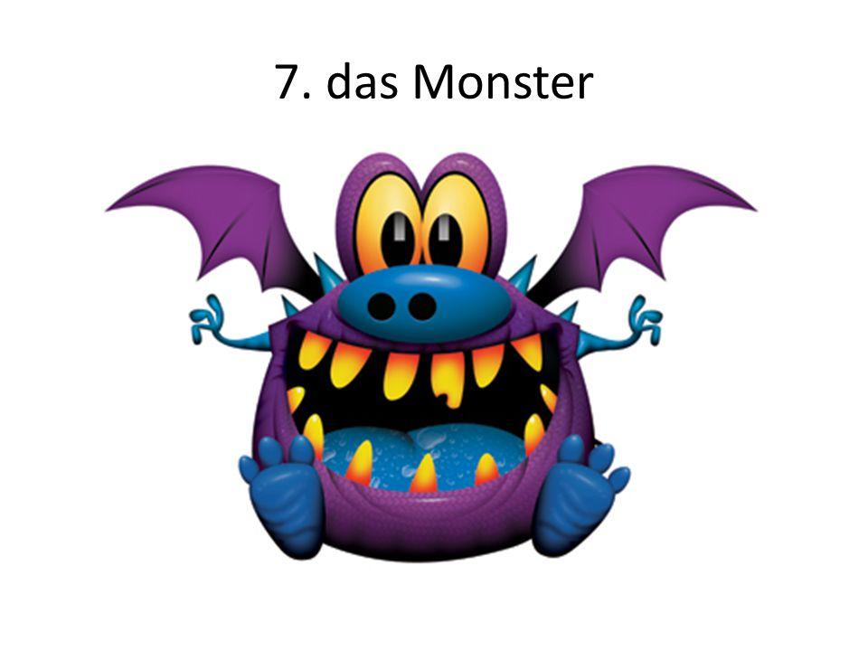8. der Zombie 9. das Blut