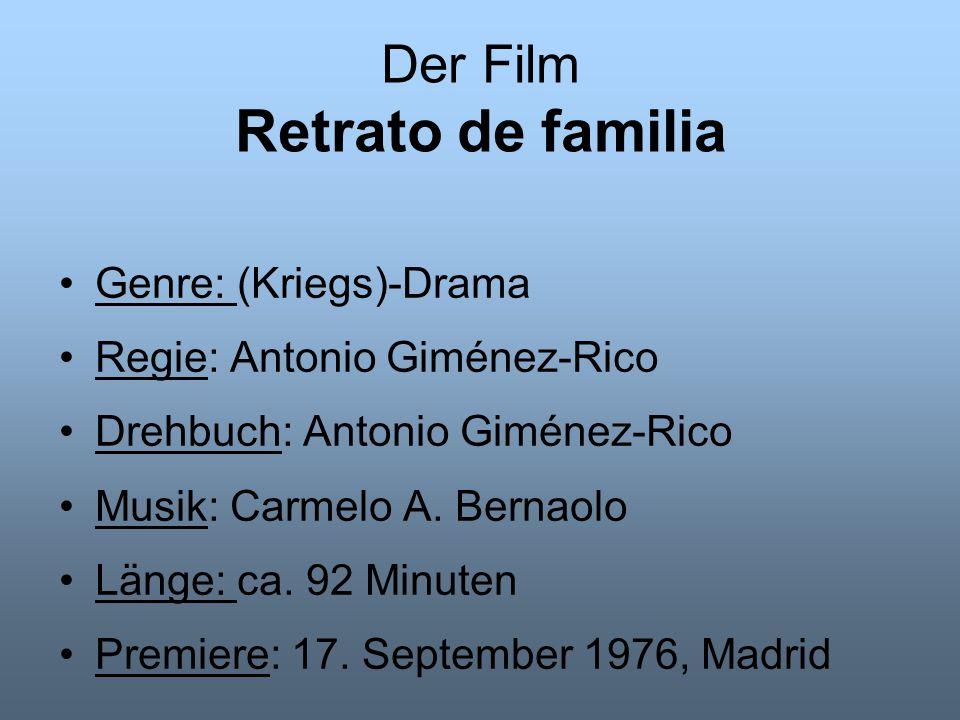 Der Regisseur Antonio Giménez-Rico Geb.: 20.