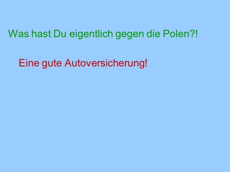 Warum haben alle nach Polen verschobene Mercedes Automatikgetriebe.