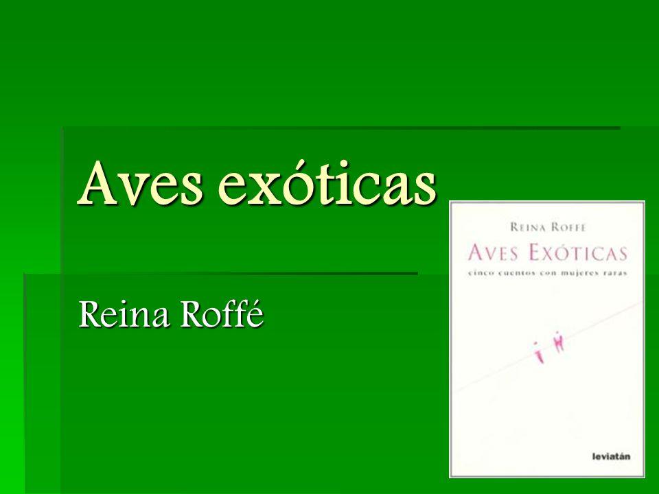 Aves exóticas  Gestalt der Tía Reche -> realismo mágico  kann aber vielmehr als Metapher verstanden werden  Tía Reche repräsentiert das Judentum  egal, was sie tut, sie macht es niemanden Recht  sie versucht sich zu verstellen, schafft es aber nicht  Anpassungsversuche scheitern  flüchtet zum Schluss, weil sie Angst um ihr Leben hat -> nicht Angst vor dem Tod, sondern vor dem Verlust ihrer Existenz