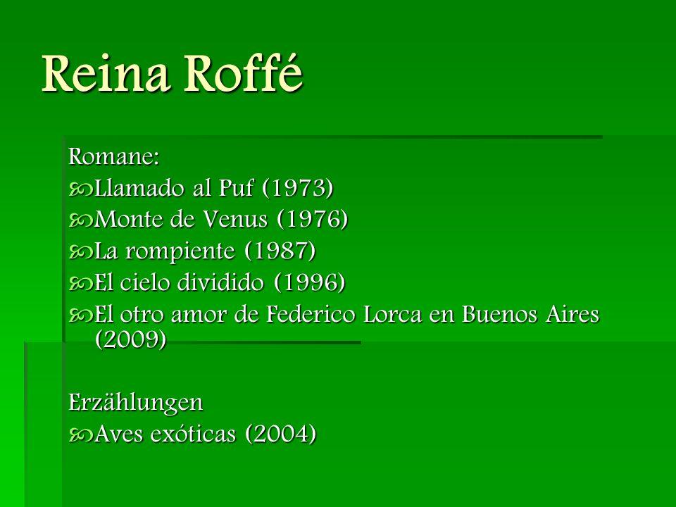Reina Roffé Essays und Interviewbände  Juan Rulfo: Autobiografía Armada (1973)  Espejo de Escritores.