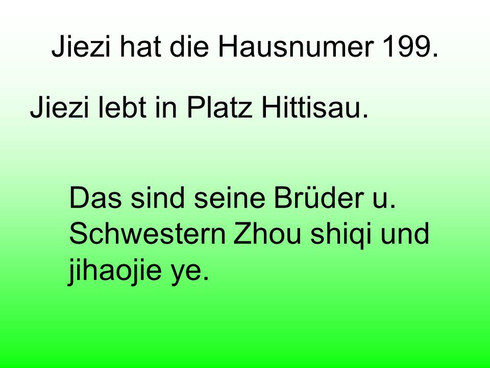 Hier ist Jiezi in Bregenz. Jiezi ist noch 10 Jahre alt.