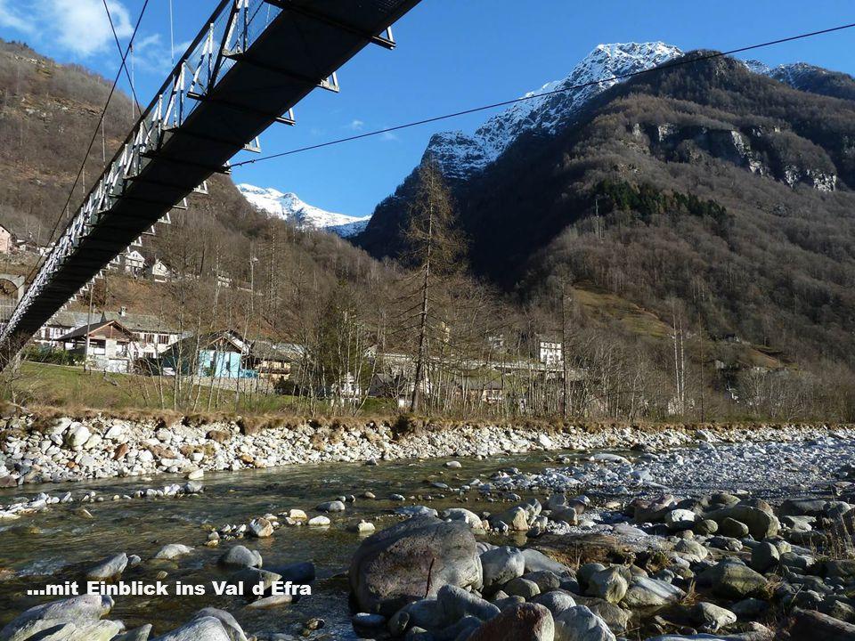...mit Einblick ins Val d Efra