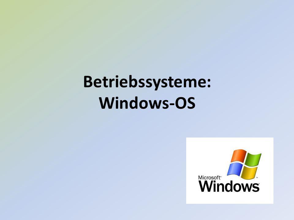 1.Was ist ein Betriebssystem 2.Betriebssysteme Historie 3.BIOS 4.Windows OS 5.Windows Historie