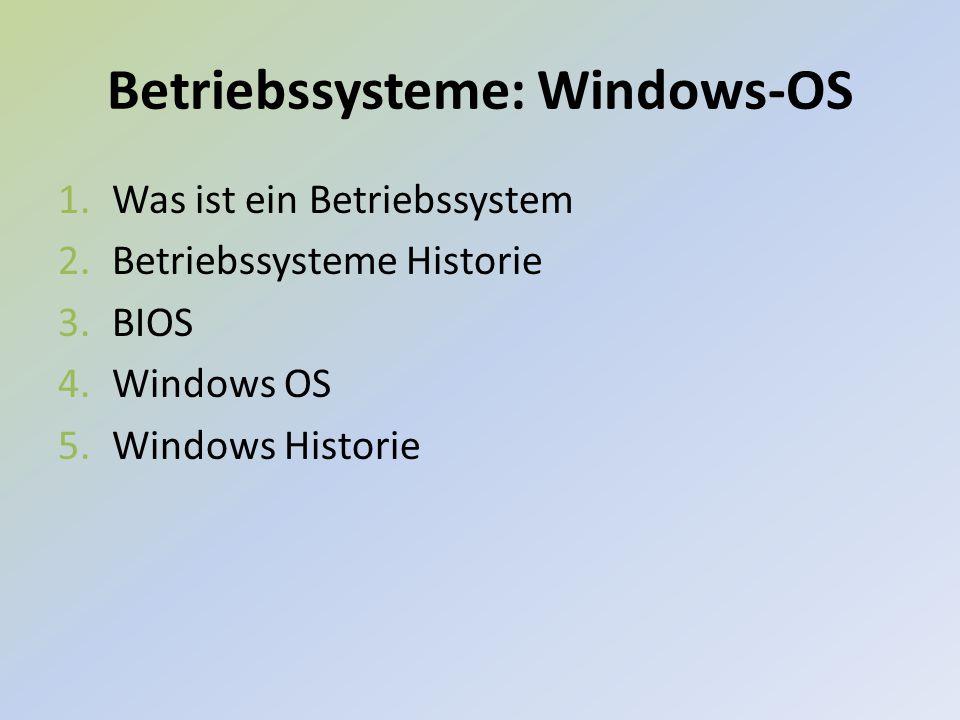 1.Was ist ein Betriebssystem.