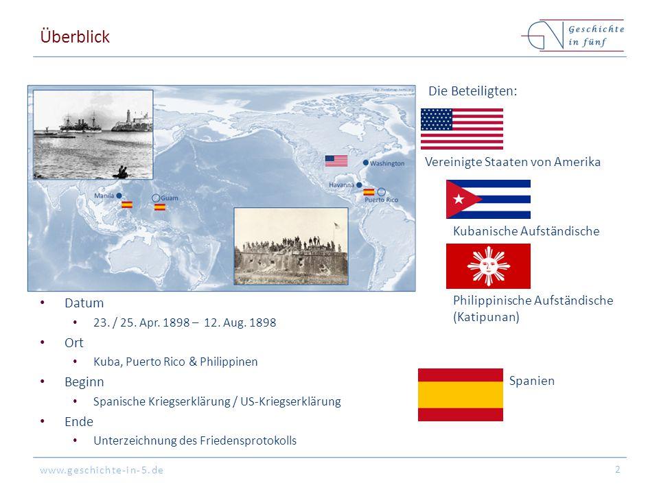 www.geschichte-in-5.de Überblick Datum 23./ 25. Apr.