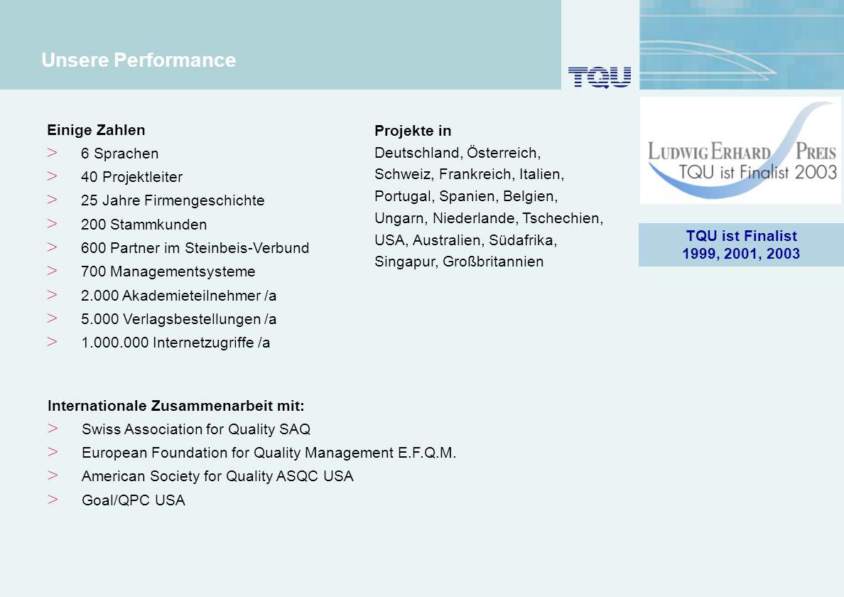 4 Unsere Performance Einige Zahlen > 6 Sprachen > 40 Projektleiter > 25 Jahre Firmengeschichte > 200 Stammkunden > 600 Partner im Steinbeis-Verbund >