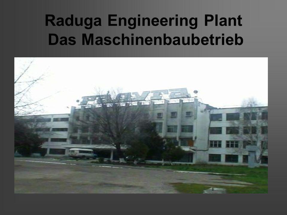 Raduga Engineering Plant Das Maschinenbaubetrieb