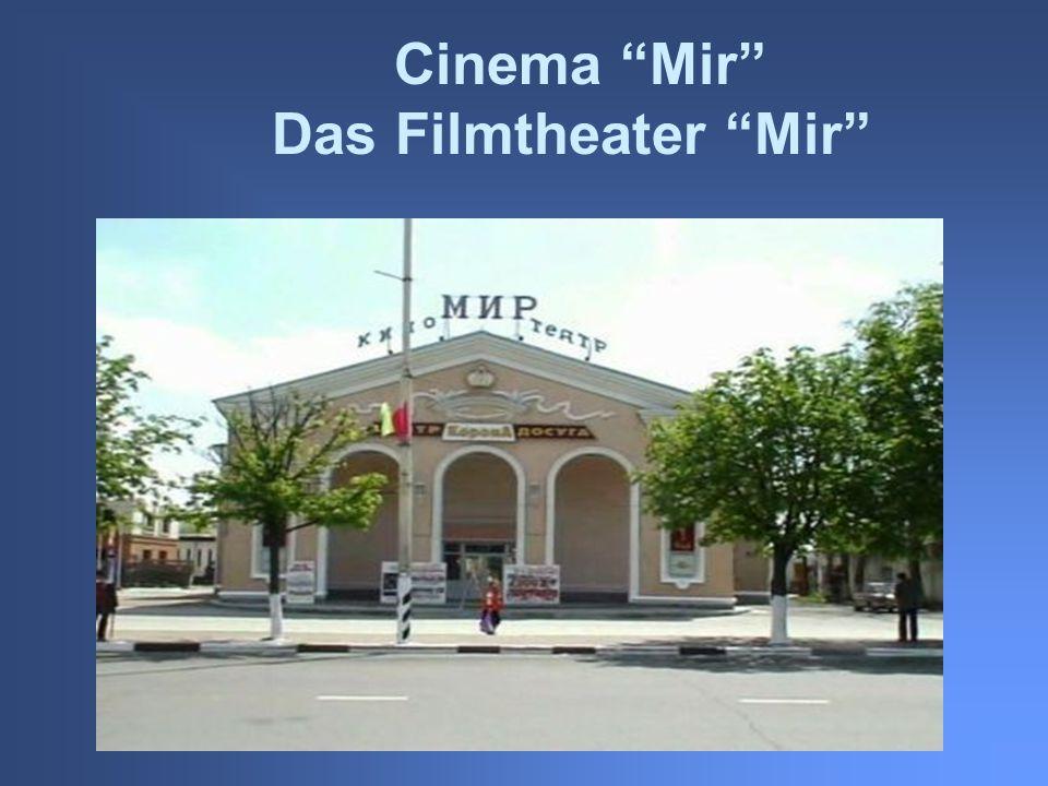 Cinema Mir Das Filmtheater Mir