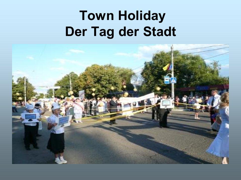 Town Holiday Der Tag der Stadt