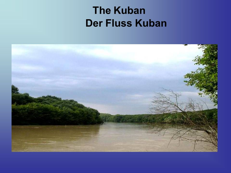 The Kuban Der Fluss Kuban