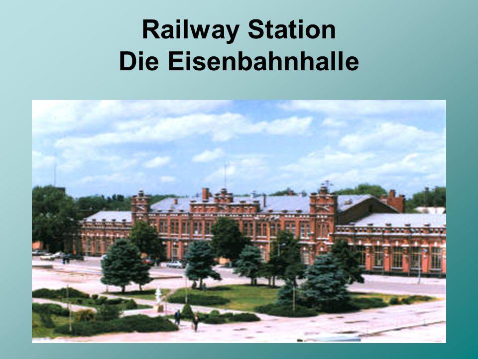 Railway Station Die Eisenbahnhalle