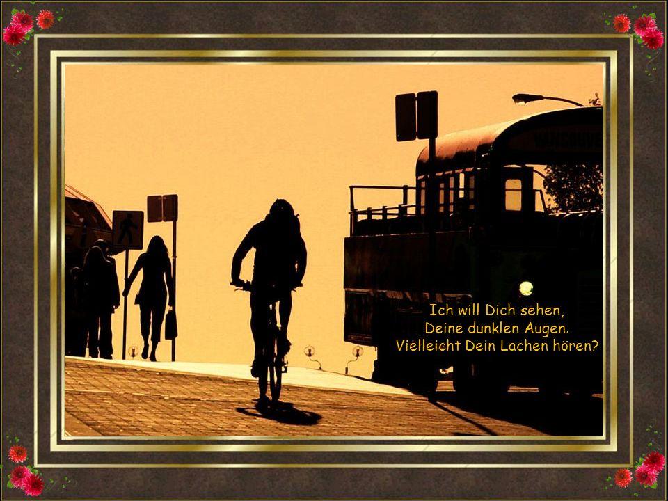 Ich halt s nicht aus nur noch zu warten, auf einen Zug der niemals fährt.