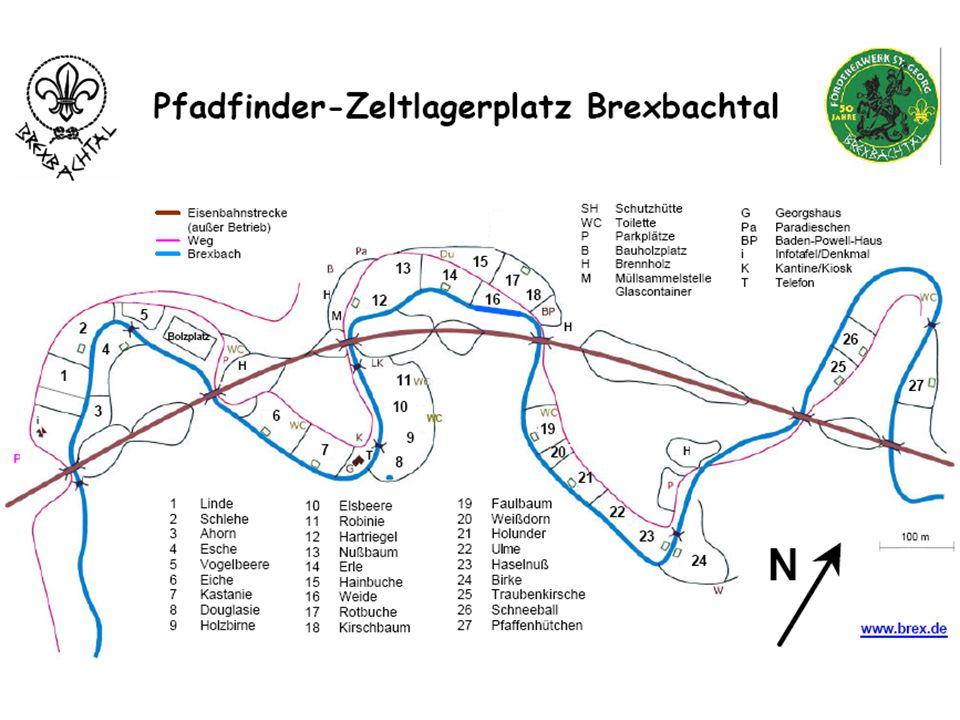 Programm neben dem täglichen Spielen am Bach und an der stillgelegten Eisenbahnstrecke unter anderem: Geländespiel Freibadbesuch Ausflug (Burgruine Grenzau, Schloss/Burg Sayn, Zoo, Römerturm)
