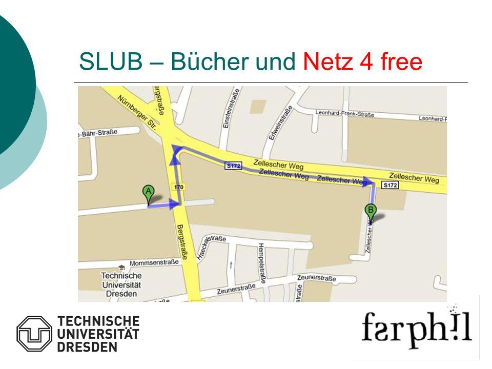 SLUB – Bücher und Netz 4 free