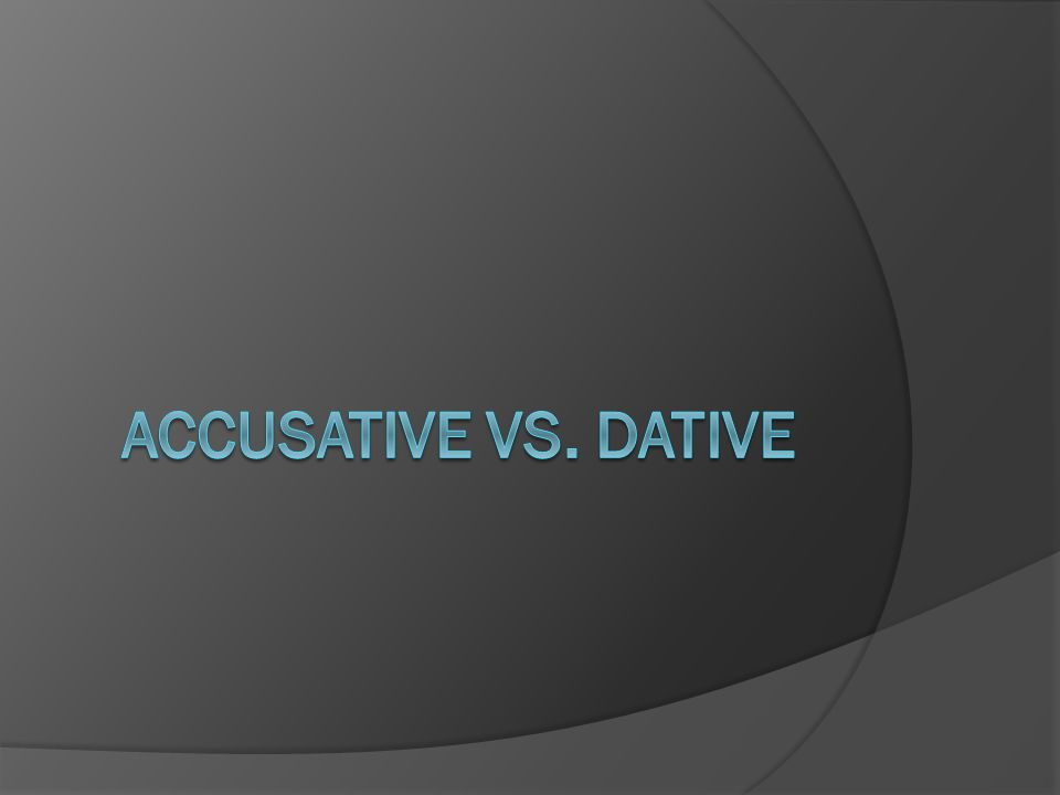Der Unterschied  When it's accusative then its in motion  And when it's not it's dative