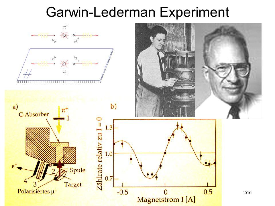 266 Garwin-Lederman Experiment