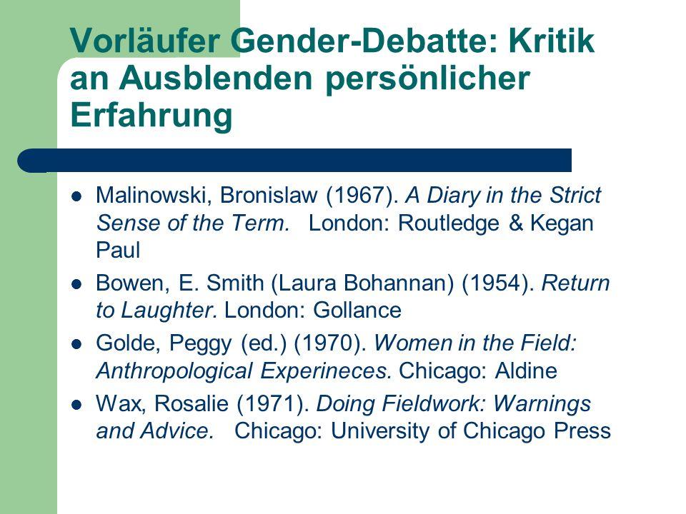 Welche Rolle spielt Gender- Hierarchie in sozialen Systemen .