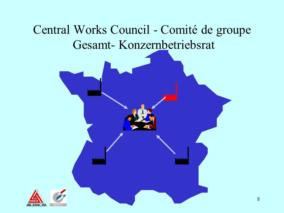 8 Central Works Council - Comité de groupe Gesamt- Konzernbetriebsrat