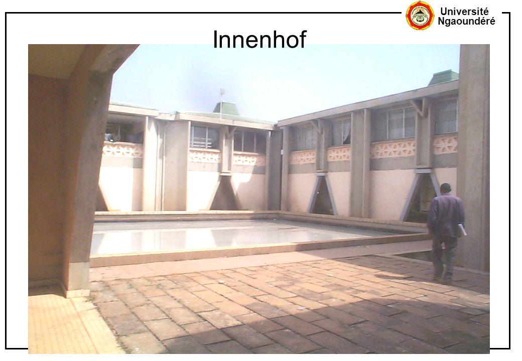 Université Ngaoundéré Innenhof