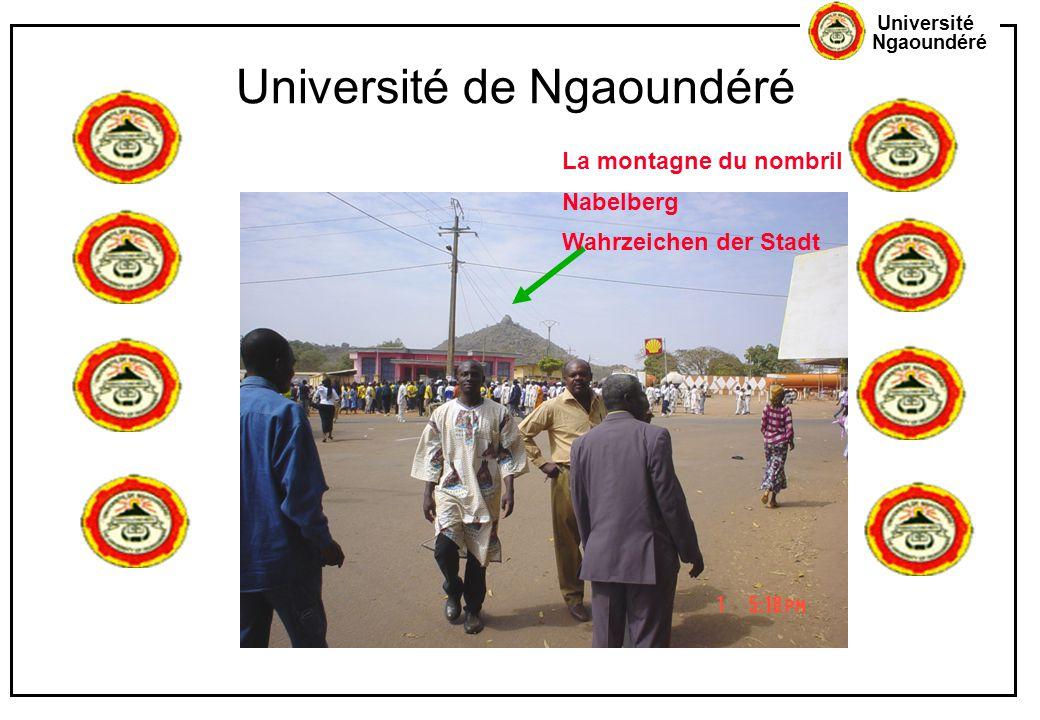 Université Ngaoundéré Université de Ngaoundéré La montagne du nombril Nabelberg Wahrzeichen der Stadt