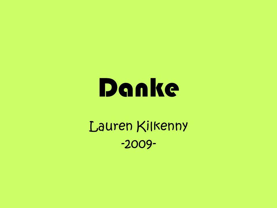 Danke Lauren Kilkenny -2009-