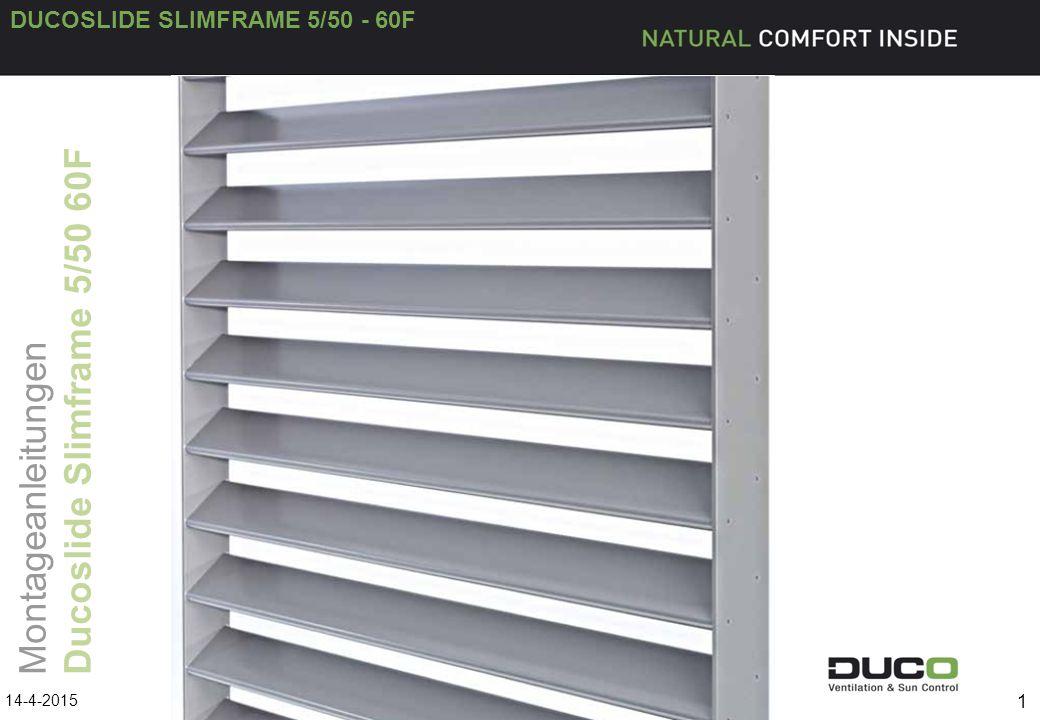 DUCOSLIDE SLIMFRAME 5/50 - 60F 2 Produkt 14-4-2015