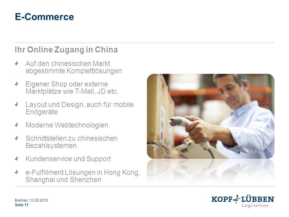 E-Commerce Ihr Online Zugang in China Auf den chinesischen Markt abgestimmte Komplettlösungen Eigener Shop oder externe Marktplätze wie T-Mall, JD etc