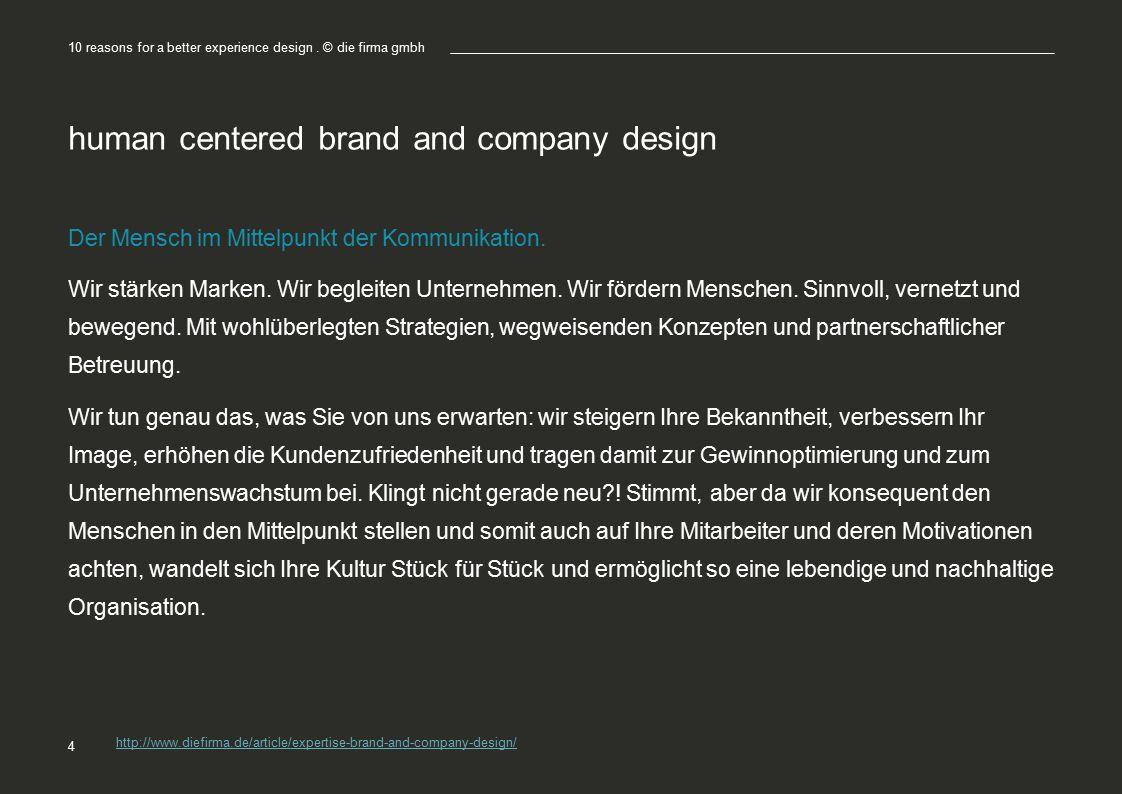 human centered brand and company design Der Mensch im Mittelpunkt der Kommunikation.