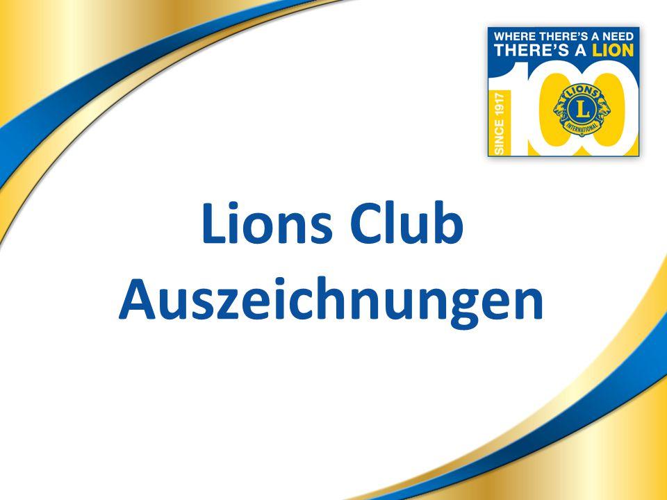 13 Lions Club Auszeichnungen